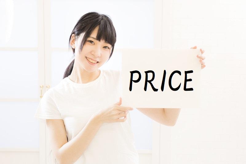 中小企業診断士通信講座の価格を比較する女子